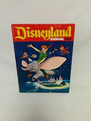 £10 • Buy DISNEYLAND ANNUAL 1972 Vintage Unclipped Very Good Condition
