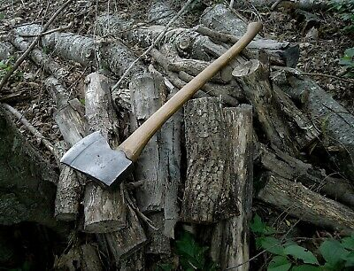 $225 • Buy A Superb Hand Forged Maine Single Bit Axe With A Folded High Carbon Tip. Ex+++