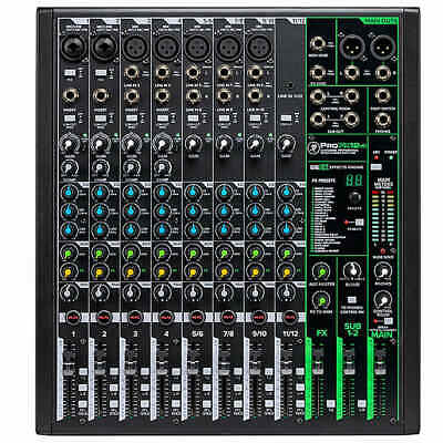 $329.99 • Buy Mackie ProFX12v3 12 Channel Professional Mixer With USB