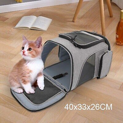 AU16.19 • Buy 【Spacious】Dog Cat Pet New Carrier Backpack Travel Bag Front Dogs Outdoor Bike AU