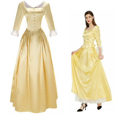 £39.97 • Buy Music Dress Hamilton Peggy Cosplay Costume Corset Victorian Dance Ball Gown