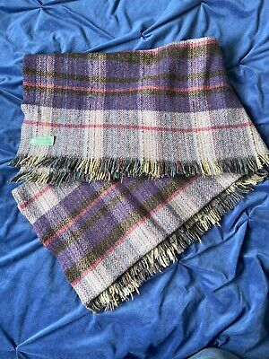 """£20 • Buy NATIONAL TRUST ALL WOOL BLANKET THROW PICNIC 56"""" X 48"""""""