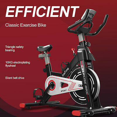 £135.99 • Buy Home Exercise Spin Bike Bicycle Cycling Cardio Gym Fitness Training Indoor