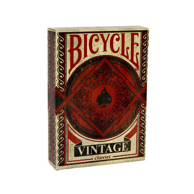 £7.95 • Buy Bicycle Vintage Playing Cards - Aged Looking Bicycle Deck - Poker Sized
