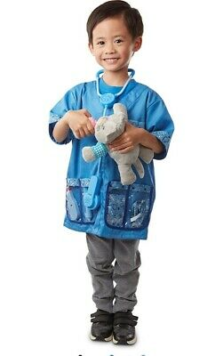 £13.99 • Buy Melissa And Doug Vets Dress Up, Veterinarian Role-Play Costume Set Age 3-6 Years