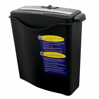£17.89 • Buy Strip Cut Paper Shredder For Home Office Electric 6 A4 Sheets 10L Litre