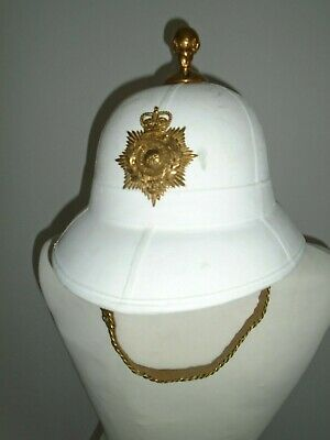 £250 • Buy Royal Marines Pith Helmet With Furniture Size 57cm British Army Issue