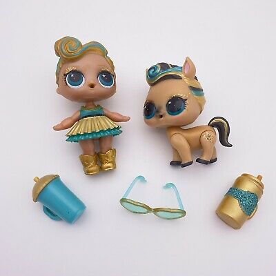 $ CDN62.93 • Buy LOL Surprise Doll Luxe Big Sister Lucky Pony Pet Family Limited Edition 24K Gold