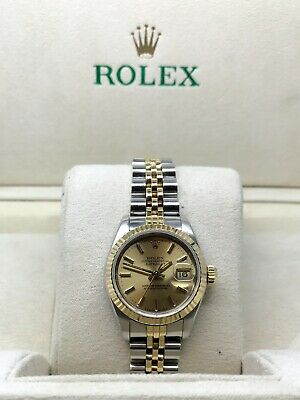 $ CDN4760.54 • Buy Rolex Datejust 69173 Two Tone 26mm Automatic Ladies Watch - Year 1987 - Sapphire