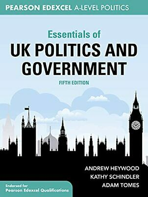 £29.42 • Buy Essentials Of UK Politics And Governm By Andrew Heywood Kathy Schindler New Book