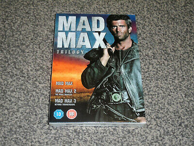 £12.95 • Buy Mad Max - The Trilogy : Mel Gibson 3 Cult Film Dvd Boxset - New (free Uk P&p)