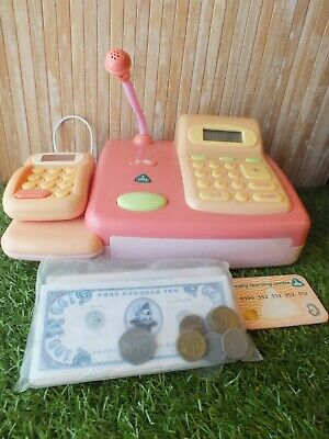 £9.99 • Buy Cash Register With Credit Card Scanner Money & Credit Card Early Learning Center