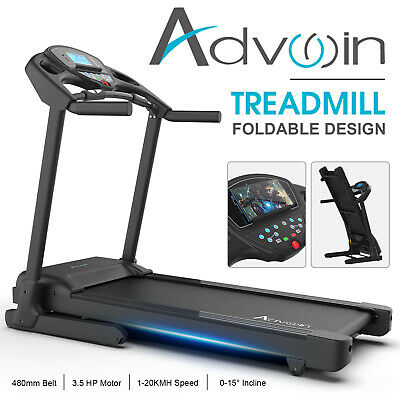 AU899.90 • Buy Advwin Treadmills Exercise Machine With Auto Incline Foldable Cardio Fitness