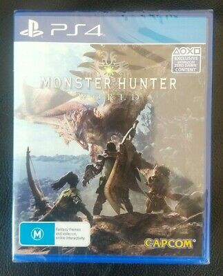 AU65 • Buy New Monster Hunter World Playstation 4 PS4 Game