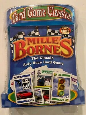 $22.99 • Buy Hasbro MILLE BORNES Classic Auto Race Card Game Brand New Sealed 2007 Ships Free