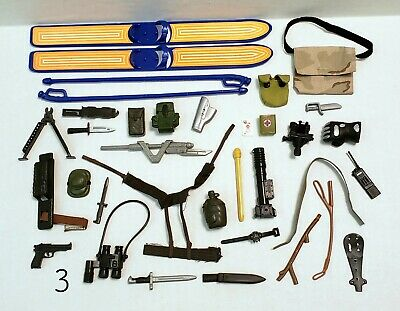 $ CDN12.59 • Buy Lot Of Misc. Unknown 12  GI JOE Soldier ACCESSORIES & WEAPONS For 1:6 Figures L3