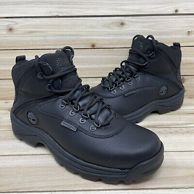 £57.49 • Buy Timberland White Ledge Waterproof Mid Hiking Boots Black 12122 Mens Size 9 Wide