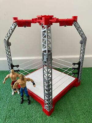 £14.99 • Buy Create A WWE WWF Superstar Ring Arena Builder Playset And 2 Figures Mattel