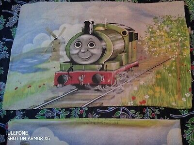 £16 • Buy Thomas The Tank Engine Single Quilt Cover And Cushion Cover