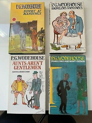 £45 • Buy A Fabulous Collection Of 4 - P. G Wodehouse Ist Edition Books