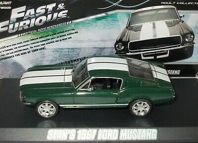 AU28.96 • Buy Ford Mustang Fastback ~1967 ~fast & Furious ~greenlight 1/43 Scale # 86211*used*