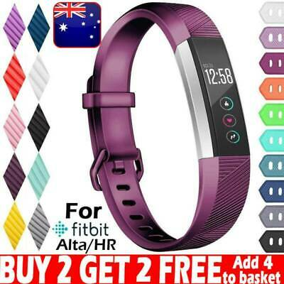 AU9.98 • Buy Replacement Silicone Watch Wrist Band Strap For Fitbit Alta/ Fitbit Alta HR ACE