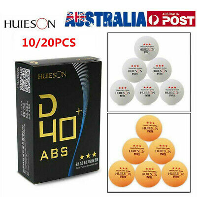 AU11.99 • Buy 3-Stars Ping Pong Balls 40mm Table Tennis Beer Training Ball ABS New Material AU