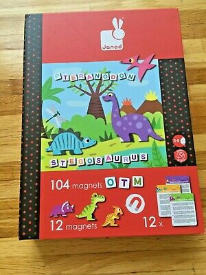 £10 • Buy Janod Magnetic Dinosaur Book - Complete And In Very Good Condition