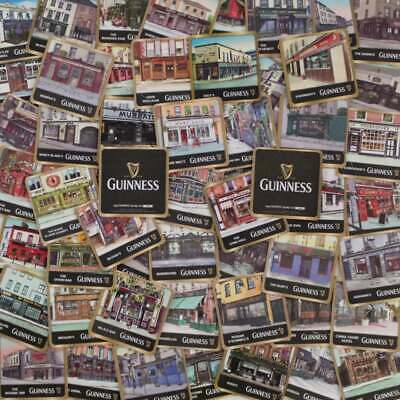 £14.99 • Buy Guinness Irish Pubs Beer Mats Coasters   Collection Of 50