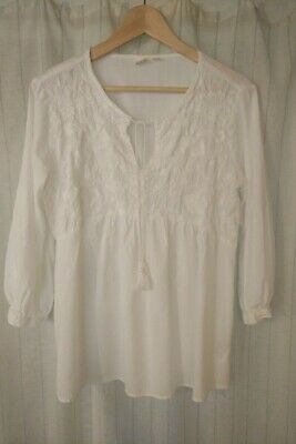 £4.50 • Buy Gap Maternity Blouse Top White Size Small 10 12
