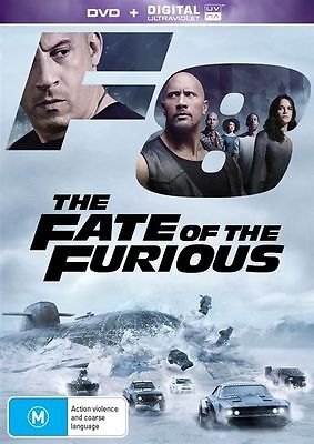 AU13.95 • Buy The Fate Of The Furious - Fast And & Furious 8 DVD ***NEW SEALED***