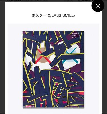 $109.99 • Buy KAWS TOKYO FIRST Limited Poster New Unused Item Cowes Medicom Toy Bearbrick