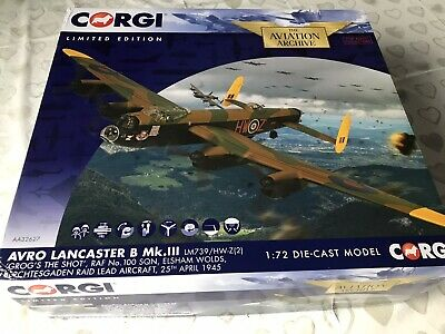 £91.99 • Buy MINT Boxed AA32627 1:72nd Scale Avro Lancaster  Grog's The Shot  LIMITED EDITION