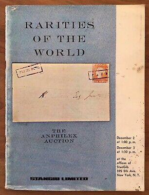 £4.50 • Buy 1971 RARITIES OF THE WORLD Auction Catalogue Stanley Gibbons New York