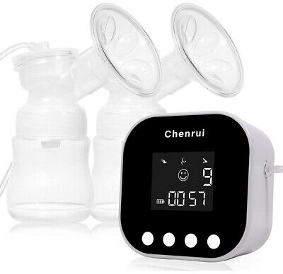 $49.99 • Buy Chenrui Electric Breast Pump Double Feeding Extractor With Milk Storage Bags New