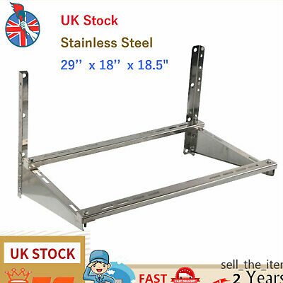 £42.01 • Buy Air Conditioner Wall Mount 201 Stainless Steel  Bracket Up To 4.3kg UK Stock