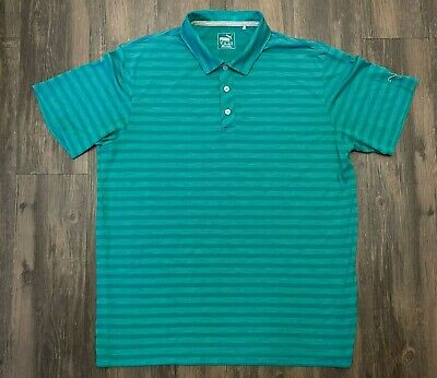 AU33.67 • Buy Puma Golf Mens Dry Cell Short Sleeve Casual Polo Shirt Size Large