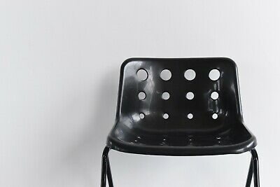 £80 • Buy Single Black Robin Day For Hille / Loft Ltd Polo Stacking Chair