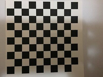 £3.30 • Buy 1/18 Scale Modified Tuning CHEQUERED BOARD Decal
