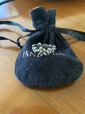 AU26 • Buy Pandora Silver & 14k Gold Chain Of Daisies Size 58