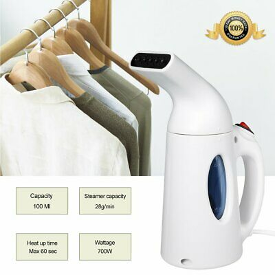 View Details 700W Handheld Ironing Machine Portable Dry Cleaning Travel Garment Steamer House • 29.99£