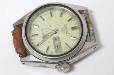 $ CDN11.81 • Buy Seiko 2906-0610 Automatic Lady Watch , Rusty. For Repairs Or For Parts    -13995