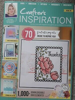 £1.20 • Buy New Crafter's Companion Inspiration Magazine Issue 26
