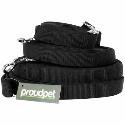 £12.20 • Buy Durable Extra Long Line Dog Lead 15m Black Padded Handle Strong Training Aid