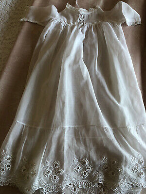 £10 • Buy Antique White Christening Gown