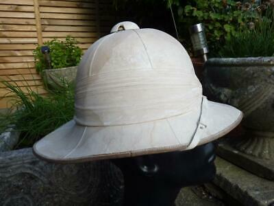 £49.95 • Buy WWI / WWII British Military Army Pith / Sun Helmet Size 7 1/8, Equator Tropical