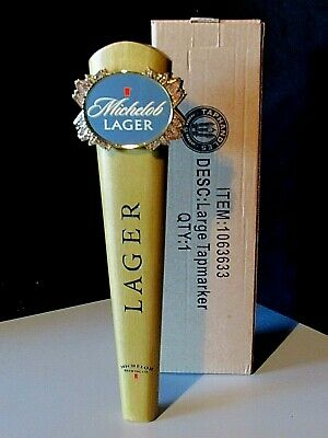 $ CDN21.40 • Buy New 11  Michelob Lager Tall Beer Tap Handle Lot For Bar Kegerator Budweiser