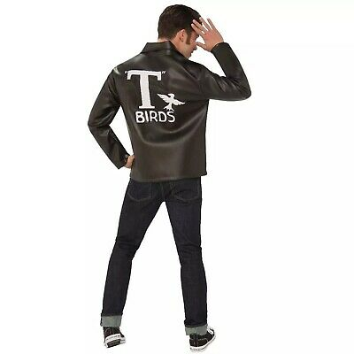 £37.49 • Buy Grease Men's T-Birds Faux Leather Jacket Halloween Costume - One Size #4213