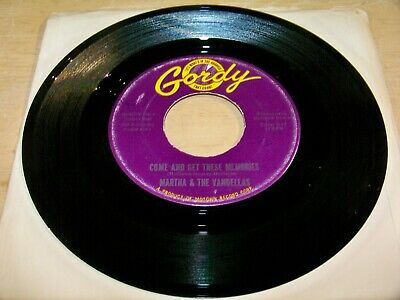 £3.59 • Buy Martha & The Vandellas 45 - Come And Get These Memories - Gordy 7014