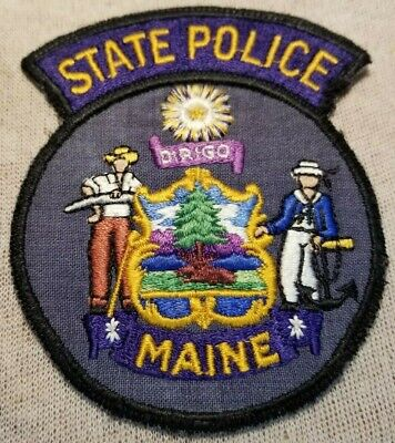 $6.84 • Buy ME Maine State Police Patch